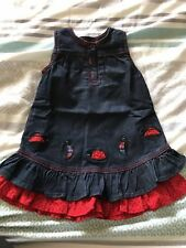 Skirts Baby & Toddler Clothing New Pumpkin Patch Baby Girls 12-18 Months Super Cute Grey Denim Belted Skirt