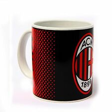 Ac milan officiel fade céramique football crest mug