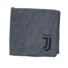 Juventus Telo Palestra Originale Grigio Logo Nero 50 x 100 cm Collezione Travel