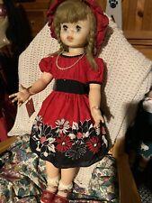 Vintage Uneeda Freckles Doll 1960's 30�