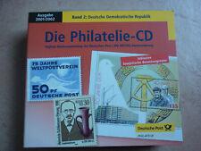 CD Die Philatelie Deutsche Demokratische Republik Band 2 Ausgabe 2001/02