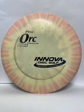Used Innova Pro Orc 172g Tie-dye Distance Driver Disc Golf Disc