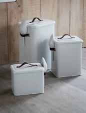 Pet Food Box Container Bird Seed Cat Dog Pet Animal Dry Storage Bin Scoop S,M,L