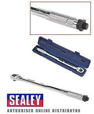 Sealey ak224 CALIBRADO Micrometer Par Trinquete Llave 27-204nm 1.3cmsq DRIVE