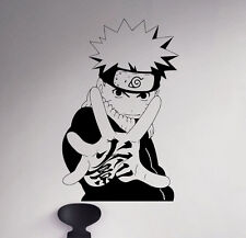 Naruto Wall Vinyl Decal Ninja Sticker Japanese Manga Removable Art Decor 15(nse)