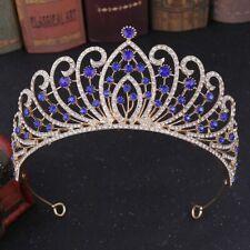 Damen Tiara Vintage Königin Prinzessin Krone Hochzeit Braut Diadem Haar Deko Neu