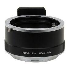 Fotodiox Objektivadapter Pro Mamiya 645 (M645) Linse für Fujifilm GFX 50S Kamera