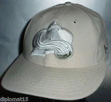 NEW ERA Vintage Snapback Cap 90s NHL Colorado Avalanche 7 1/4 NOS NEU