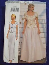 UNCUT BUTTERICK#5003 WOMEN SZ6- 8-10 MOTHER OF THE BRIDE OUTFIT   SEWING PATTERN