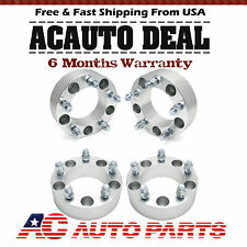 "4x2"" Wheel Spacers Adapters 5x5.5"" 9/16"" Studs Fits Dodge Ram 1500 Durango"