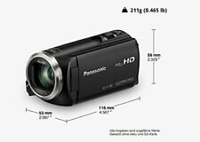 Panasonic V180 full HD video camera camcorder - new with Damaged packaging