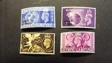 Kuwait #84-#87, Mint, NH, OG