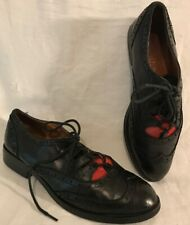 Office Black Ankle Leather Lovely Boots Size 37 (150v)