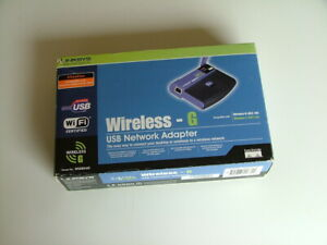 LINKSYS Wireless-G USB Network Adaptor. WUS854G