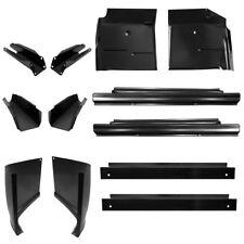 L/&R 2002-2006 Chevy Avalanche w//Cladding Dog Leg /& Rear Upper Wheel Arch Kit