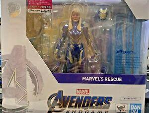 S.H. FIGUARTS Iron Man MARVEL'S RESCUE Armor Avengers Endgame Action Figure