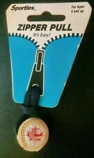 CANADA SOFTBALL ASSOCIATION OFFICIAL ZIPPER PULL SEALED OLD