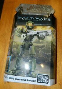 2009 Mega Bloks Halo Wars Green UNSC Spartan II 96816