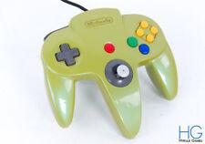 Official N64 Nintendo 64 Custom Green Game Controller! Loose Stick