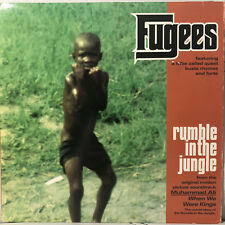 """FUGEES - RUMBLE IN THE JUNGLE (12"""") 1996!!  RARE!!  A TRIBE CALLED QUEST + BUSTA"""