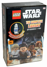 Disney LEGO Star Wars Complete Library 7 Books With Special Forces Figure