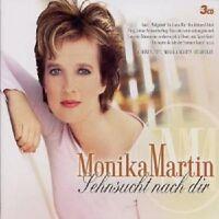 "MONIKA MARTIN ""SEHNSUCHT NACH DIR"" 3 CD BOX NEUWARE"