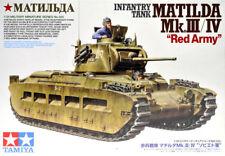 """TAMIYA 1/35 Matilda mk.iii / IV """" Rojo Ejército """"Tanque de Infantería #35355"""