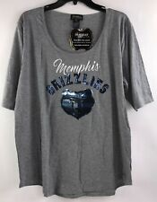 Gameday Couture Womens Size 2XL Memphis Grizzlies bling T Shirt New with Tags