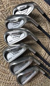 Mizuno T-Zoid MX-15 - Eisensatz - 5-P - Eisen - Graphitschaft - Golf Pride