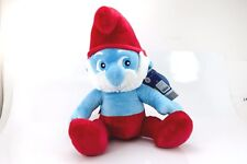 Build A Bear Papa Smurf  Smurf Song NWT RETIRED FREE SHIPPING Blue Red