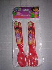 new spoons forks flatware 4 piece BPA free Dora Explorer NICK  spoon fork 3+ age
