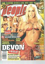People mag 2005 Devon,Sara Centrefold + celebs see cover AM
