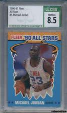 1990-91 Fleer All-Stars #5 Michael Jordan CSG 8.5