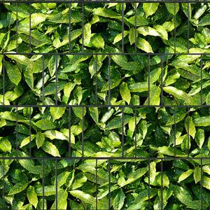 Aukube - Bedruckter Sichtschutz Streifen Rolle Doppelstab Zaun