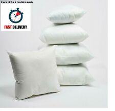 Pack of 4 Hollowfibre Cushion Pad Inner Filler Inserts Deep Filled Cushions