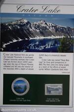 2006 Crater Lake National Park cachet et colorisée 1 oz (environ 28.35 g) Silver Eagle COIN cover