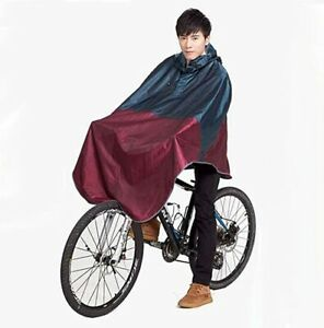 Brooks Cambridge style rain cape poncho for city cycling and commuting