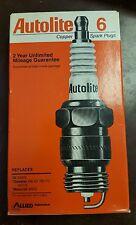 Pack of 6 - Autolite Spark Plugs - 27