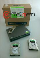 € 598+IVA QNAP HS-251+ NAS 2-Bay 8TB (2x4TB ST4000NE0025) 4C 2.0GHz 2xGbE 1xHDMI