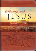 Mornings with Jesus (Deluxe) : 365 Devotions to Start Your Day Devotional