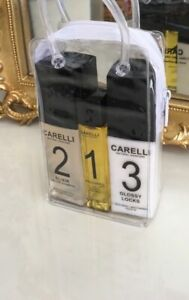 Carelli Travel Pac 1oil, 2 shampoo 3 treat ,cabin size, sulphate free shipping.