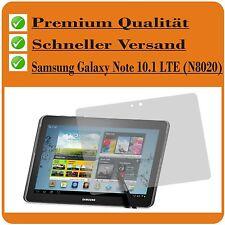 2x Samsung Galaxy Note 10.1 LTE N8020 TESTSIEGER Schutzfolie Displayschutzfolie
