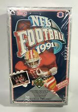 1991 Upper Deck Football factory sealed card box (36pks)