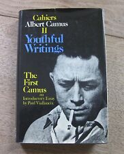 YOUTHFUL WRITINGS II by Albert Camus-  1st/1st HCDJ 1976 - stranger fall plague