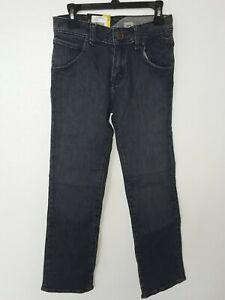 New Volcom Youth Big Boys Nova Modern Straight Fit Denim Jeans 23/10 Indigo Surf