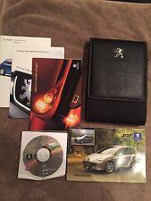 Peugeot 307 Owner's Handbook & Wallet And Audio & Telematics Disc 2005-2009
