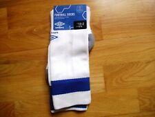 EVERTON official home football socks new size 12-2UK Eur 30-35 unopened