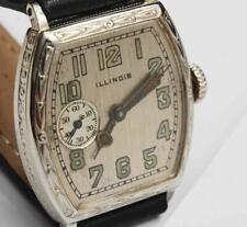 c.1927 antique ILLINOIS Mens Wristwatch - EXCELLENT & Working Fine