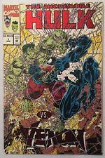 Incredible Hulk vs. Venom #1 • Rare Mail-In Comic! Embossed Red Foil Cover 1994