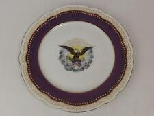 Assiette Porcelaine Limoges Haviland. 860/2500. White House Abraham LINCOLN 1861